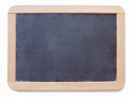 Lavagna con cornice in legno