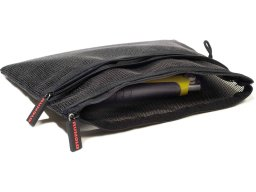 Handy zippered pouch, black