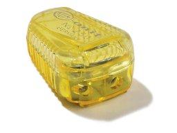 Double lead sharpener box, coloured