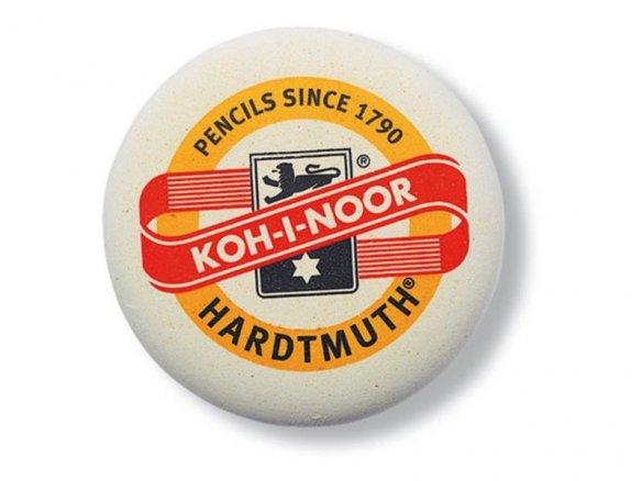 Goma de borrar Koh-i-Noor 6241, redonda