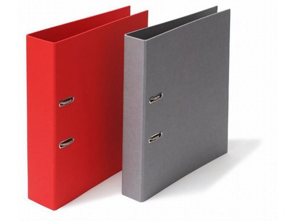 Semikolon office binder, Efalin covered