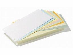Exacompta divider cards, coloured