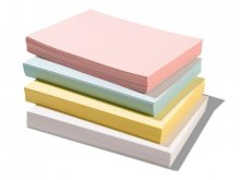 Exacompta file cards, blank