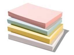 Exacompta file cards, blank