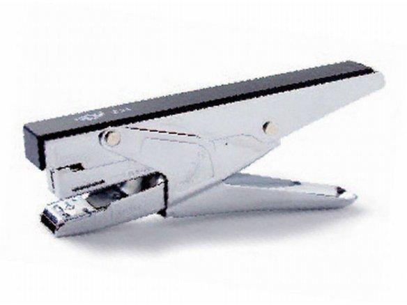 Stapling pliers, silver