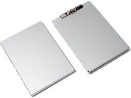 Saunders A-Holder storage clipboard, painted grey