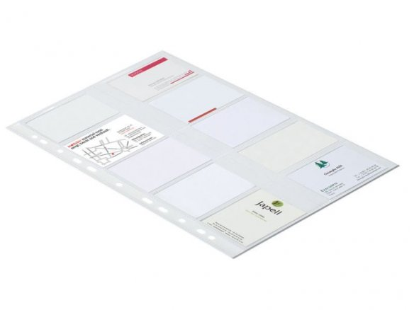 Exacompta business card protectors