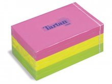 Foglietti autoadesivi Tartan, colori neon