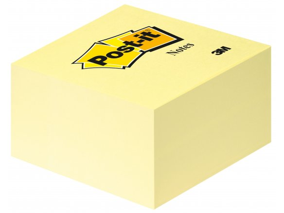 3M Post-it note cube