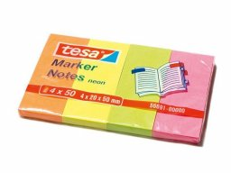 Memo Tesa Marker Notes, colori neon