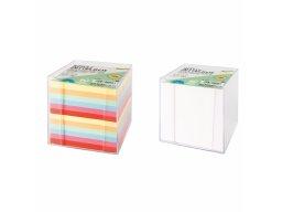 Memo pad in plastic box