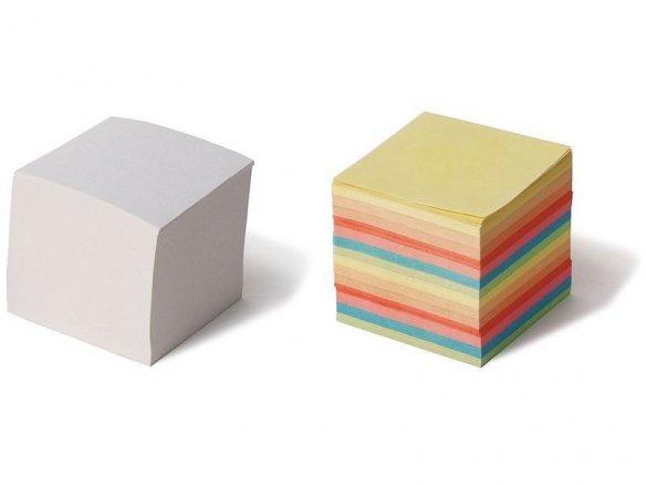 Notas de repuesto para cajas de plástico