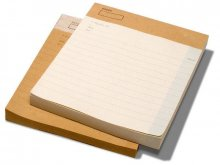 O-Check Design notepad without cover