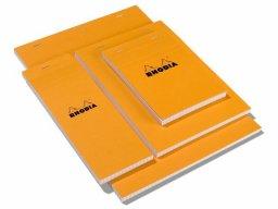 Rhodia Schreibblock orange
