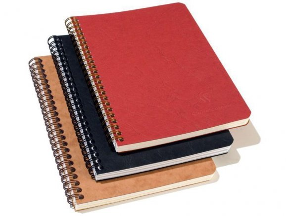 Cuaderno de espiral Clairefontaine ''Age Bag''