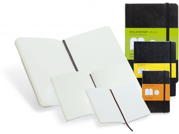 Moleskine notebook, softcover