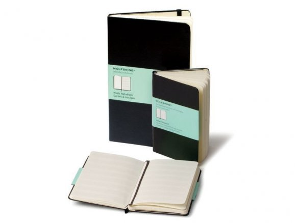 Moleskine musical notes notebook