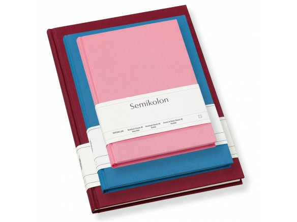 Semikolon notebook, linen cover