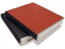 Bindewerk Gästebuch mit Metallkante