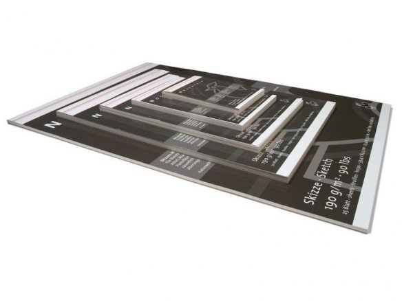 Hahnemühle Nostalgie sketch pad, 190 g/mř