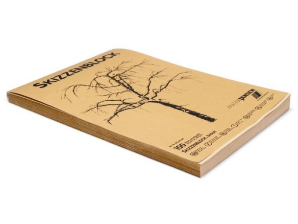 Sketch pad (brown), 100 g/mř