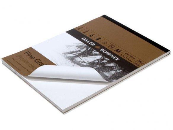 Daler-Rowney Mal-/Zeichenblock Fine Grain, 200g/m²