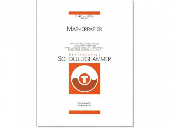 Schoellershammer marker paper, 75 g/mř