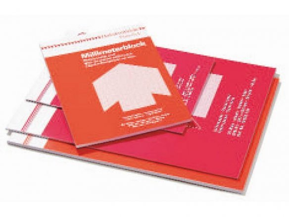 Bloc de papel milimetrado Hahnemühle, 80 g/mř