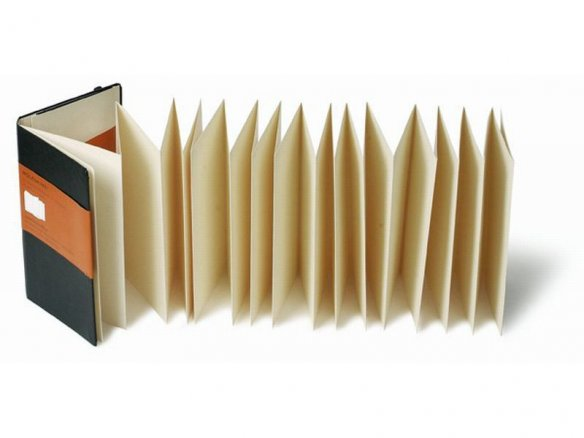 Moleskine concertina book
