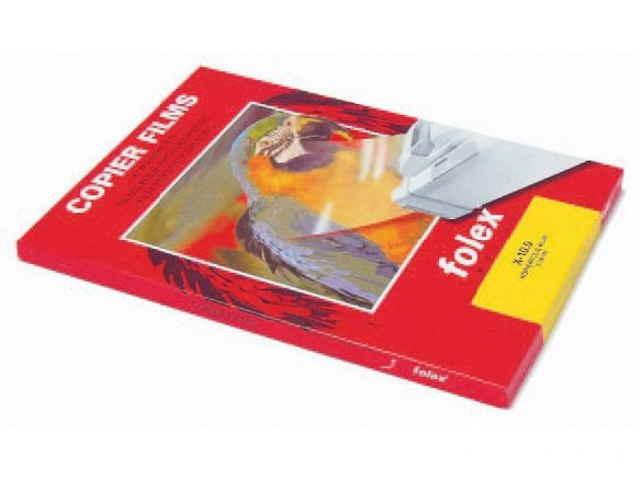 Folex laser/copier film X-10.0, transparent