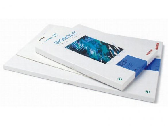 Signolit SC 46 laser adhesive film, white, glossy