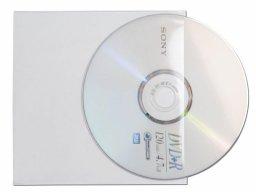 CD-Tasche Kunststoff transparent
