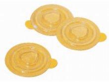 CD fixation dots, rigid-PVC, self-adhesive