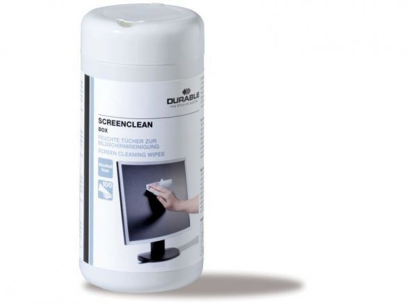 Durable Screenclean screen cleaning wipes