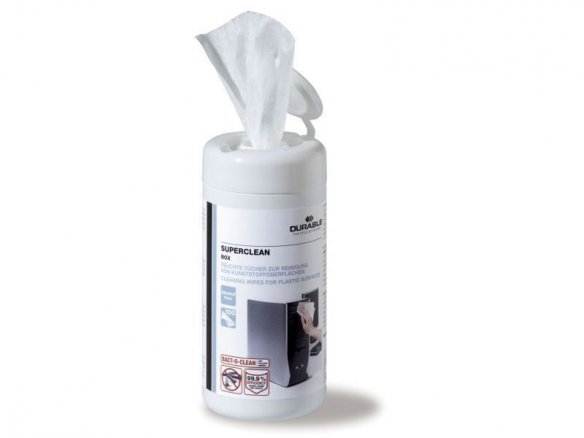 Durable Superclean surface cleaning wipes