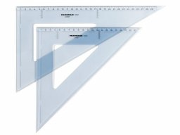 Rumold set square, plastic