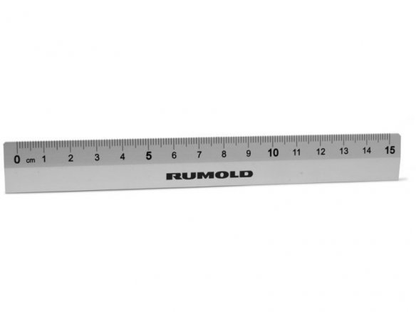 Rumold student ruler, aluminium
