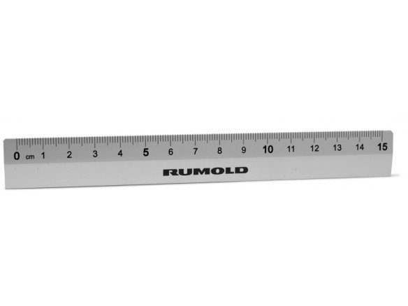 Rumold Student Ruler Aluminium W 20 Mm H 15 2 L 150 Matte Silver