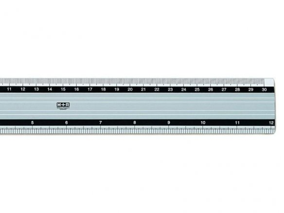Aluminium measuring ruler