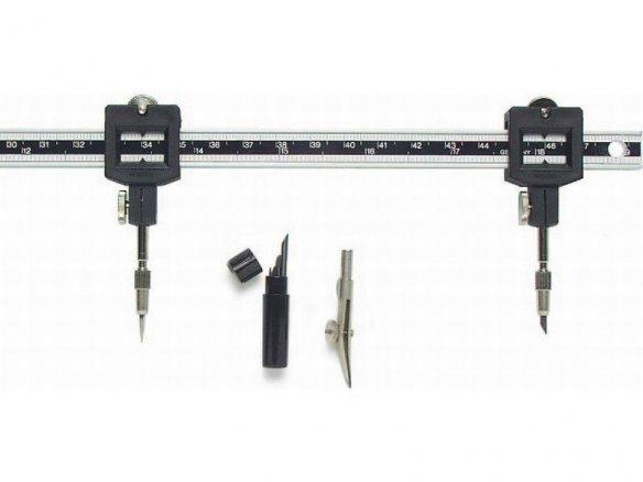 Ecobra aluminium-rod compass