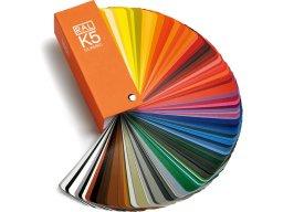 Abanico muestrario de colores RAL-K5 RAL Classic