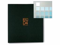 Atlas muestrario de colores RAL-D4 RAL Design