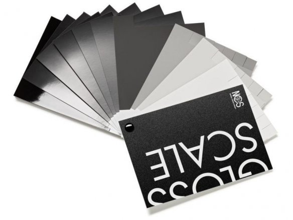 NCS Gloss Scale colour fans