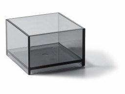 Palaset plactic boxes, coloured, mini-box P-04