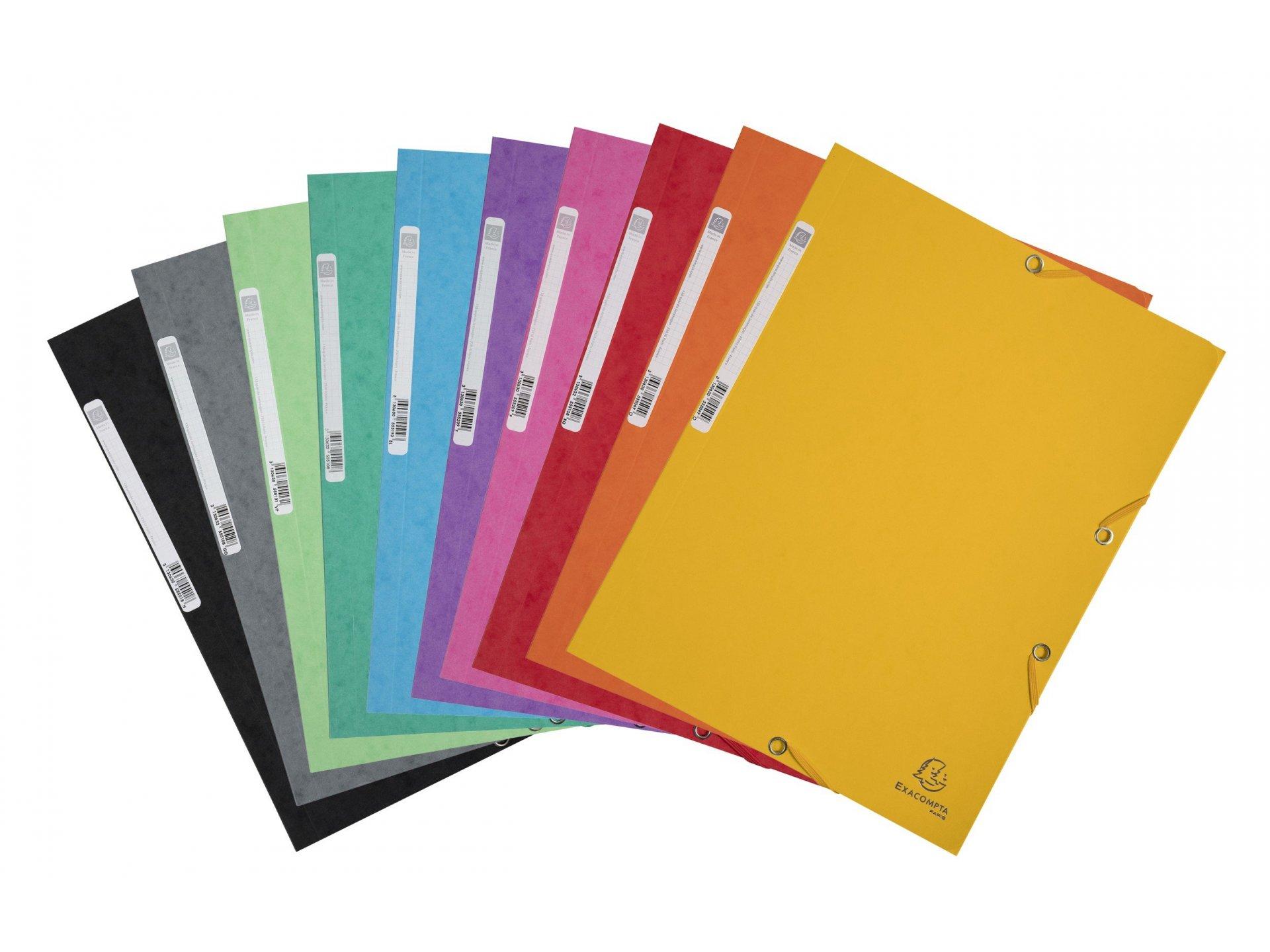 exacompta karton eckspannmappe online kaufen modulor. Black Bedroom Furniture Sets. Home Design Ideas