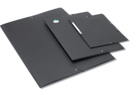 Exacompta cardboard elasticated folder