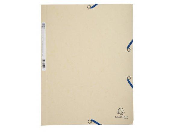 DIN A4 EXACOMPTA Schnellhefter Karton elfenbein VE=3