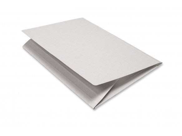 Carpeta para dibujos, de cartón gris