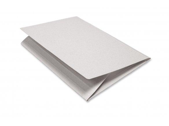 Cartella per disegni in cartone grigio