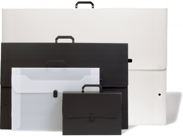 PP multi-wall sheet artist carrying case